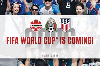 La Copa del Mundo es para Norteamérica