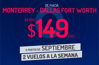Nueva Ruta Monterrey-Dallas
