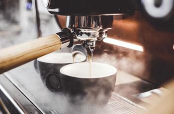 Cafeterías por la ciudad