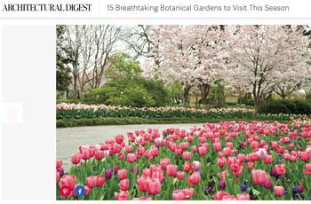 Dallas Arboretum entre los 15 mejores