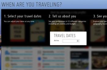 Planea tu viaje en línea