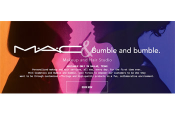 MAC Cosmetics & Bumble and bumble