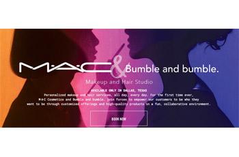MAC Cosmetics & Bumble and bumble